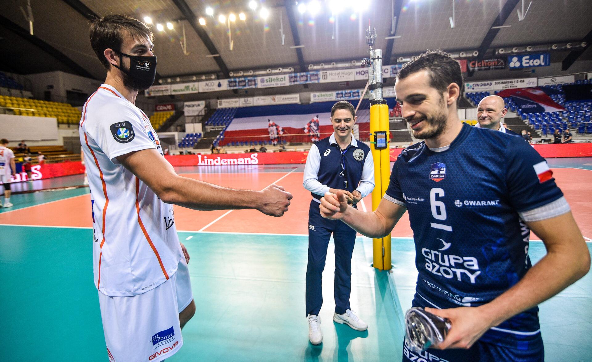 LM: Grupa Azoty ZAKSA Kędzierzyn-Koźle vs Lindemans Aalst fotogaleria