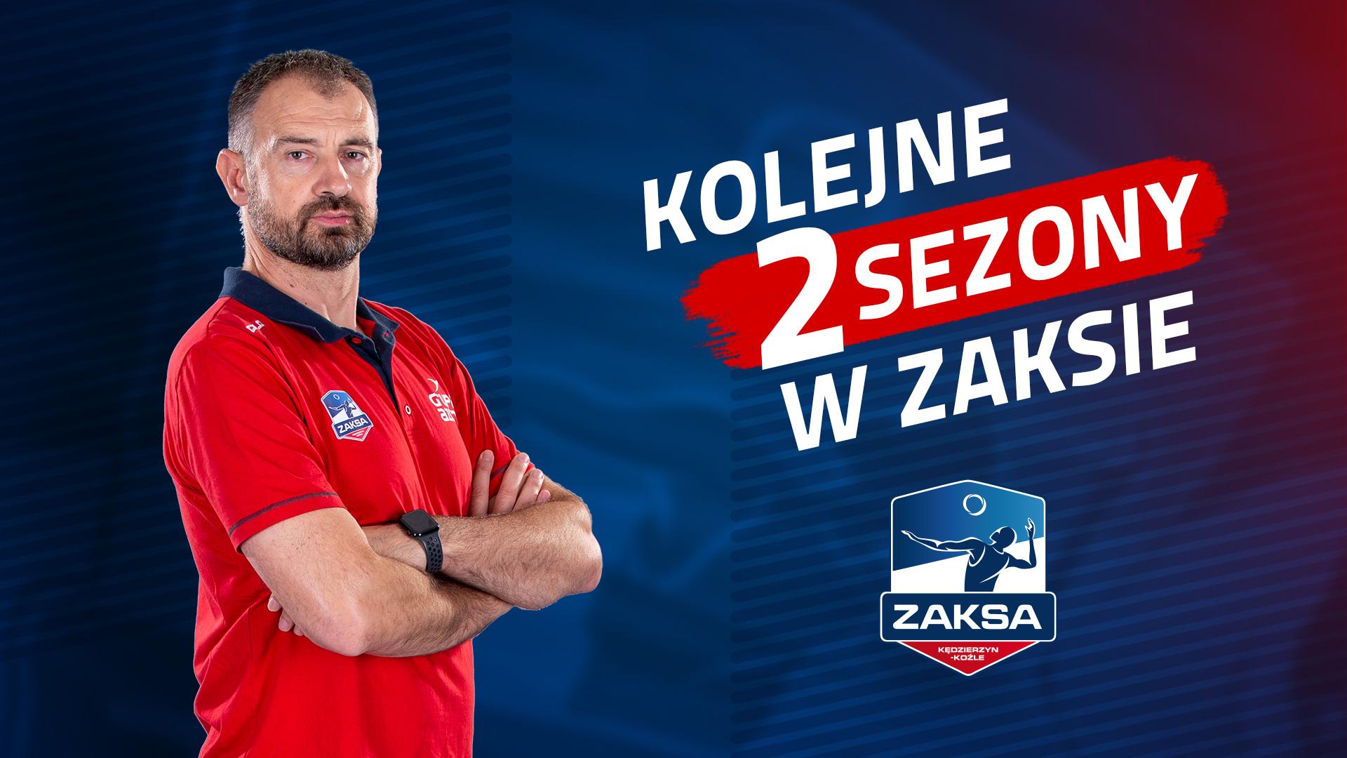 Nikola Grbić na dłużej w ZAKSIE!