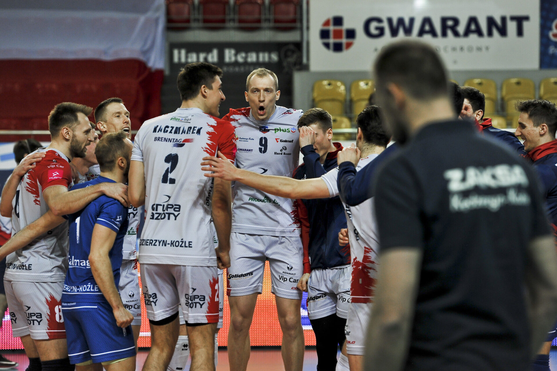 Grupa Azoty ZAKSA Kędzierzyn-Koźle za mocna dla GKS-u