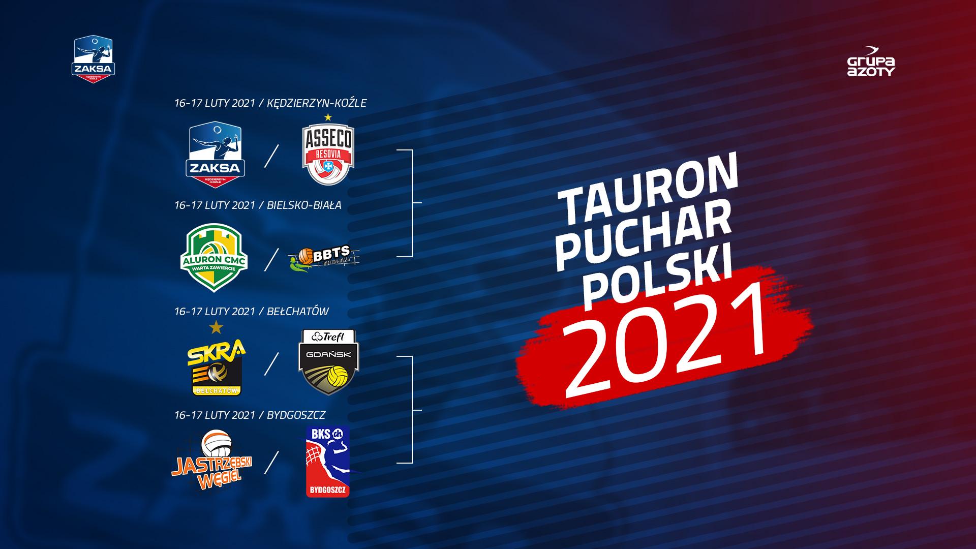 Poznaliśmy rywala w ćwierćfinale TAURON Pucharu Polski