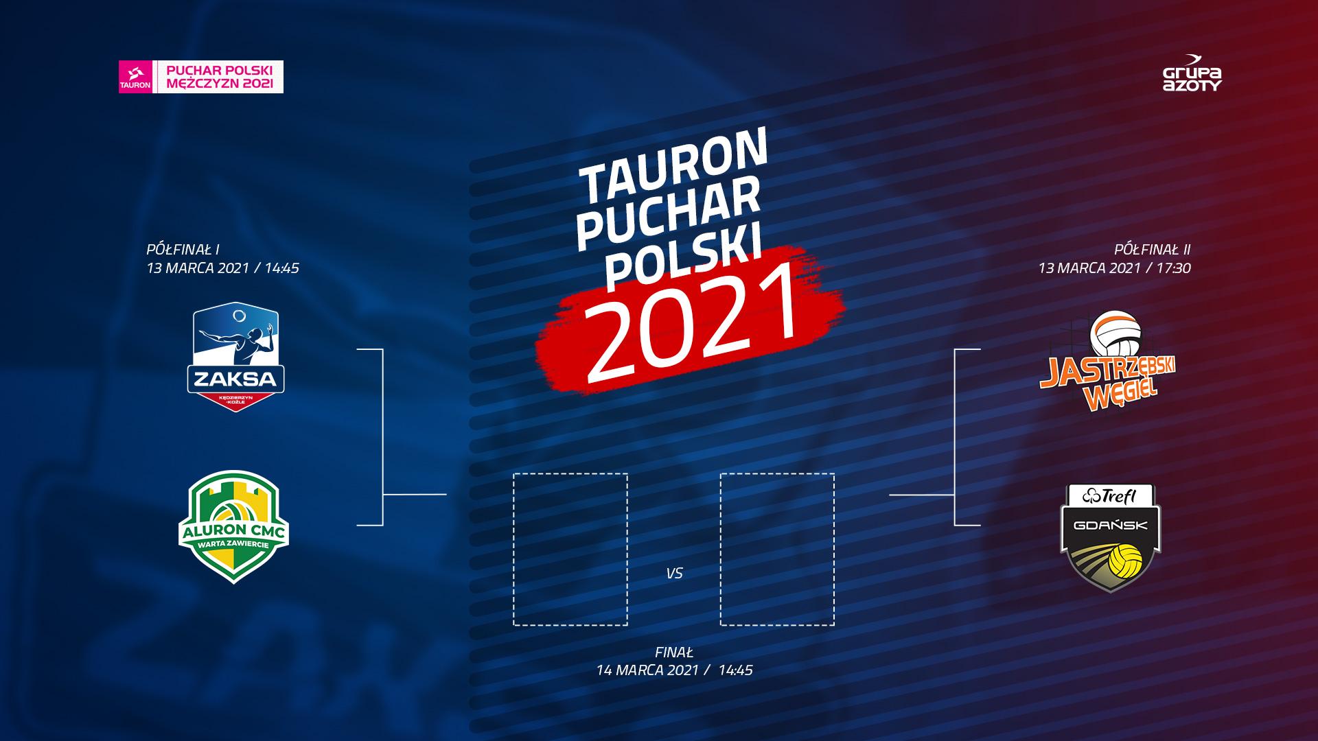 Grupa Azoty ZAKSA Kędzierzyn-Koźle w drodze po TAURON Puchar Polski 2021