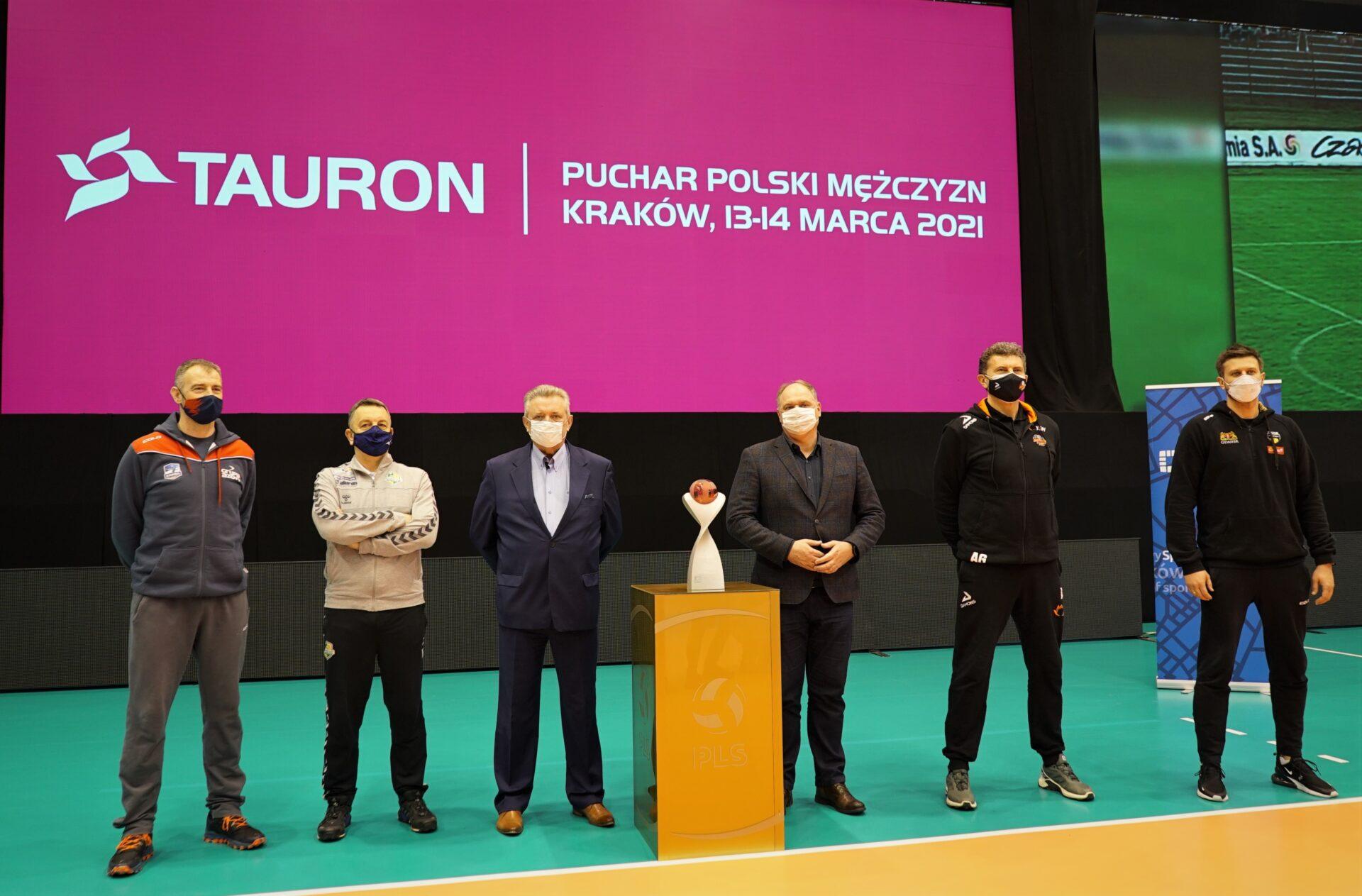 Konferencja prasowa przed TAURON Pucharem Polski 2021