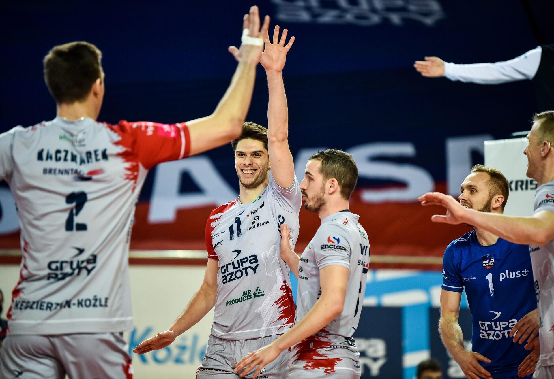 Play-off: Grupa Azoty ZAKSA Kędzierzyn-Koźle – PGE Skra Bełchatów fotogaleria