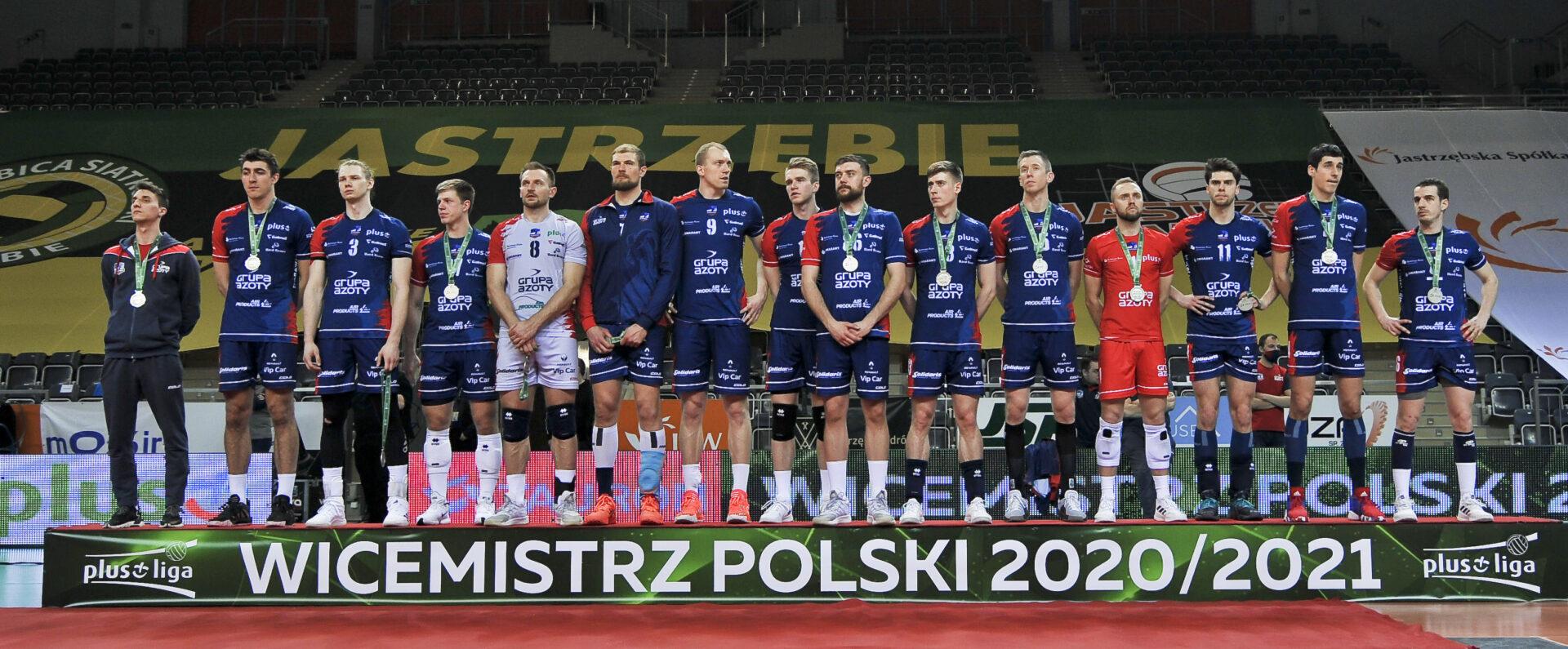 Grupa Azoty ZAKSA Kędzierzyn-Koźle wicemistrzem Polski fotogaleria