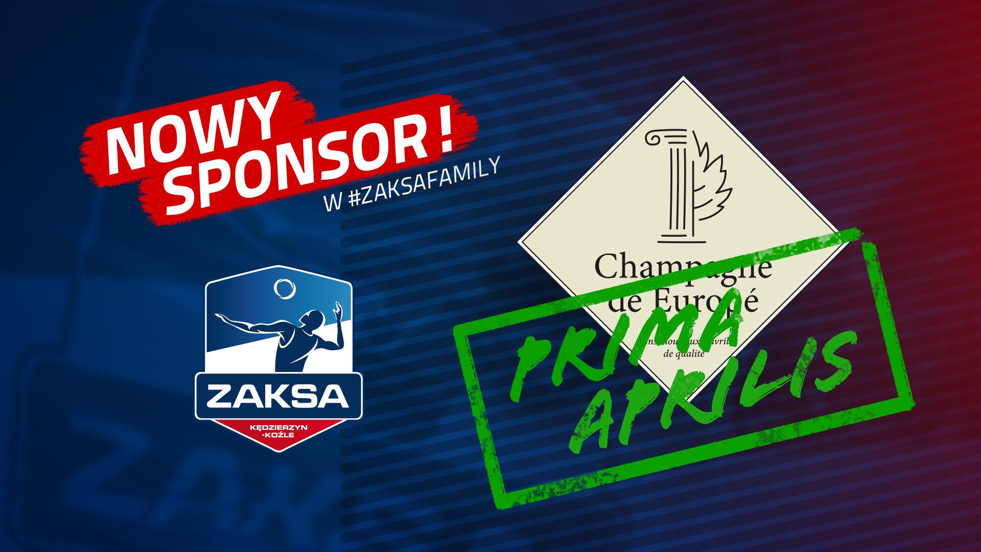 Nowy sponsor na finał Ligi Mistrzów! – Prima Aprilis
