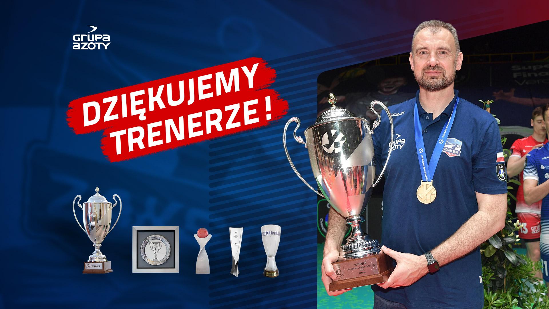 Nikola Grbić odchodzi z ZAKSY