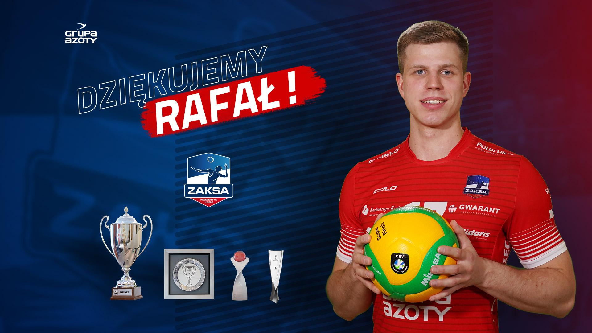 Rafał Prokopczuk odchodzi z ZAKSY