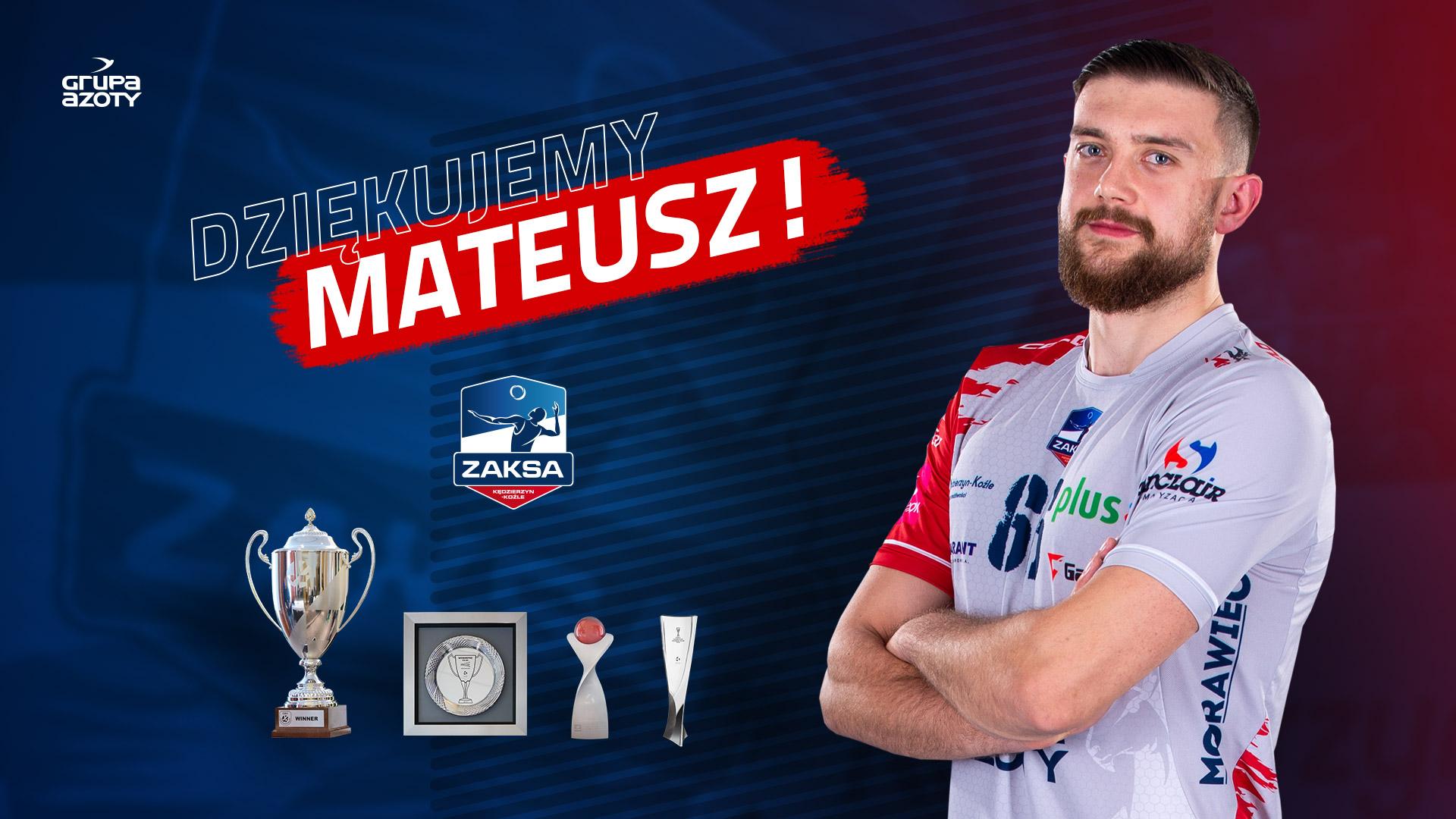 Mateusz Zawalski zmienia barwy klubowe