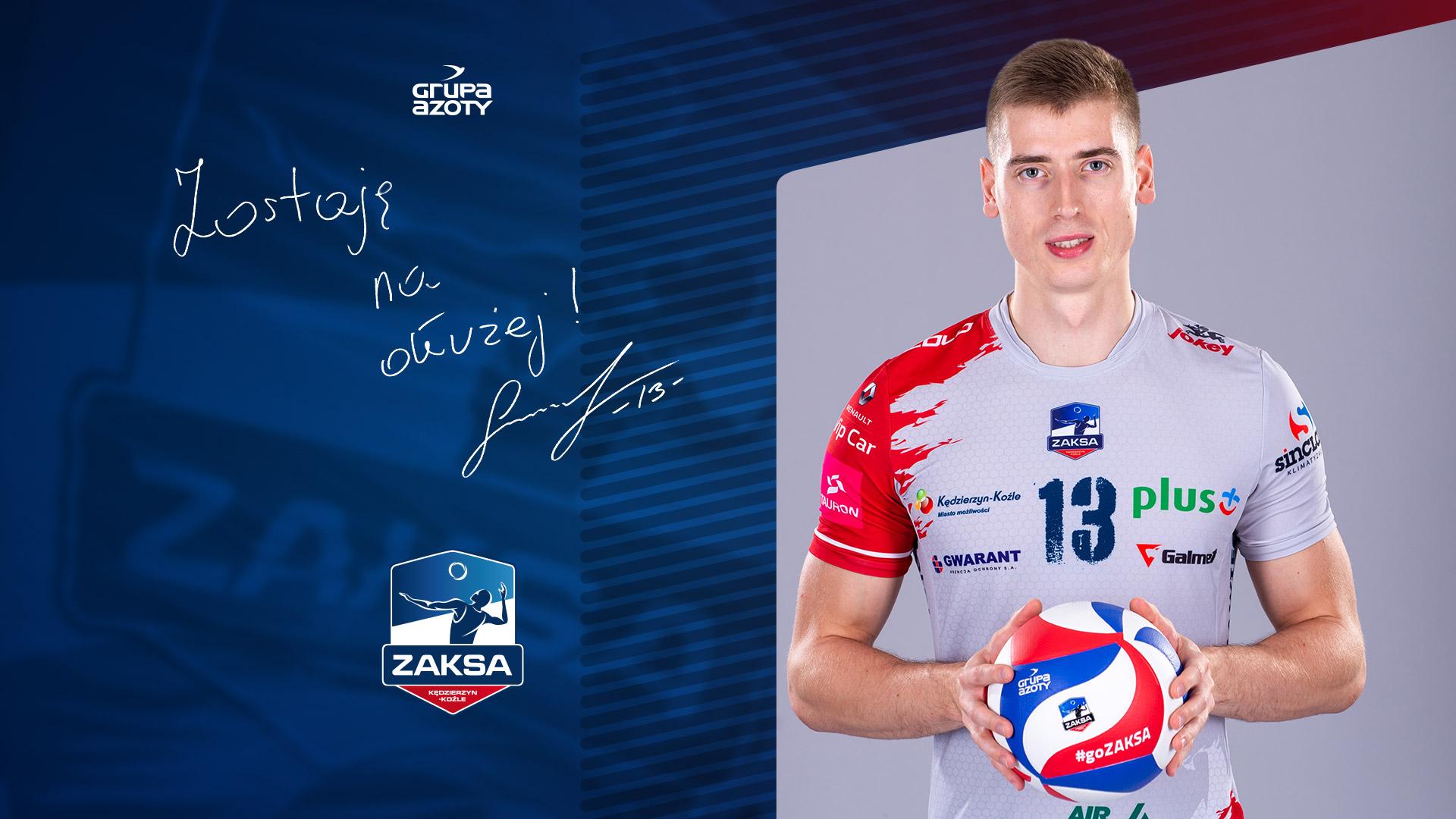 Kamil Semeniuk w ZAKSIE na dłużej