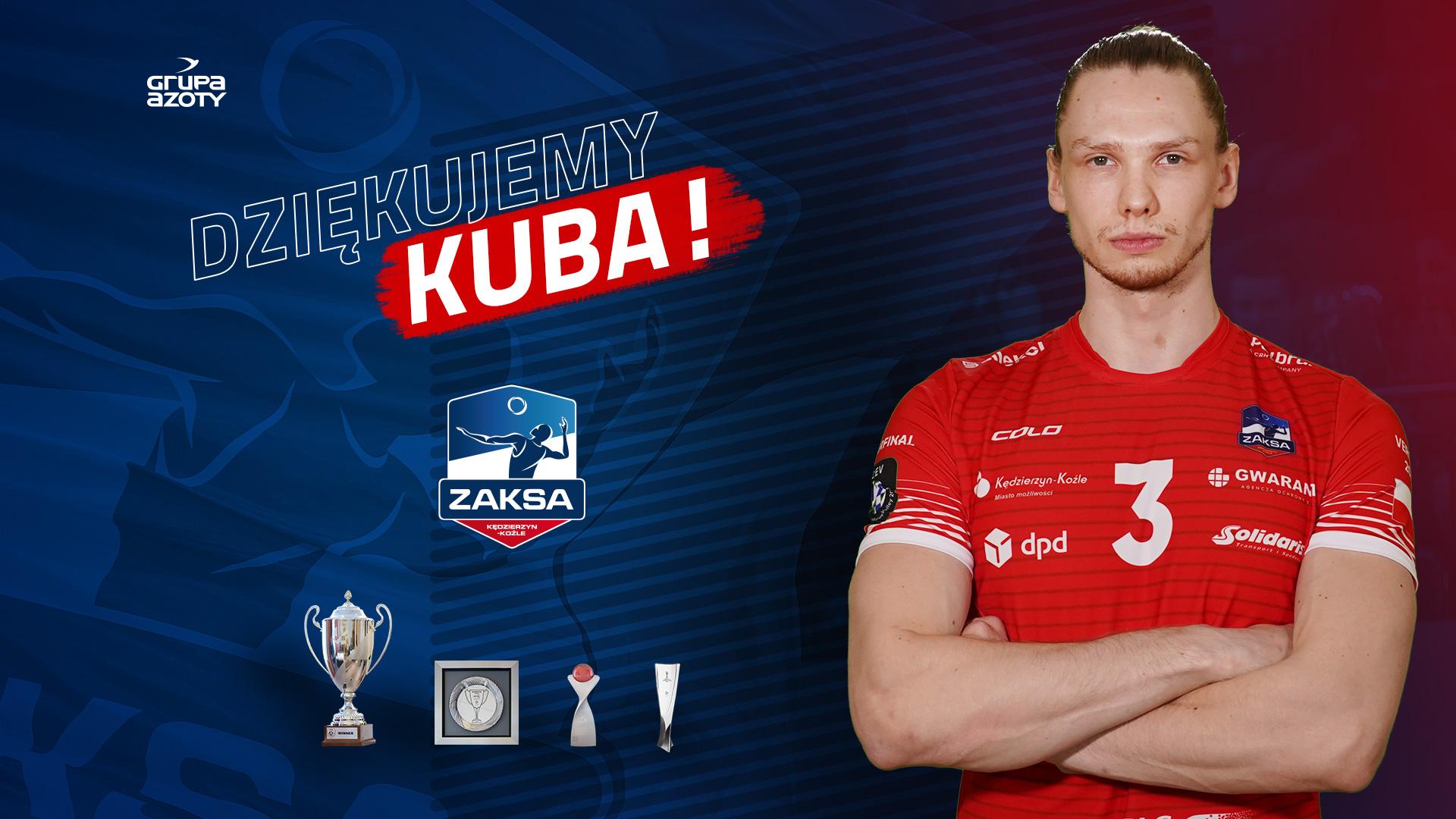 Jakub Kochanowski żegna się z ZAKSĄ