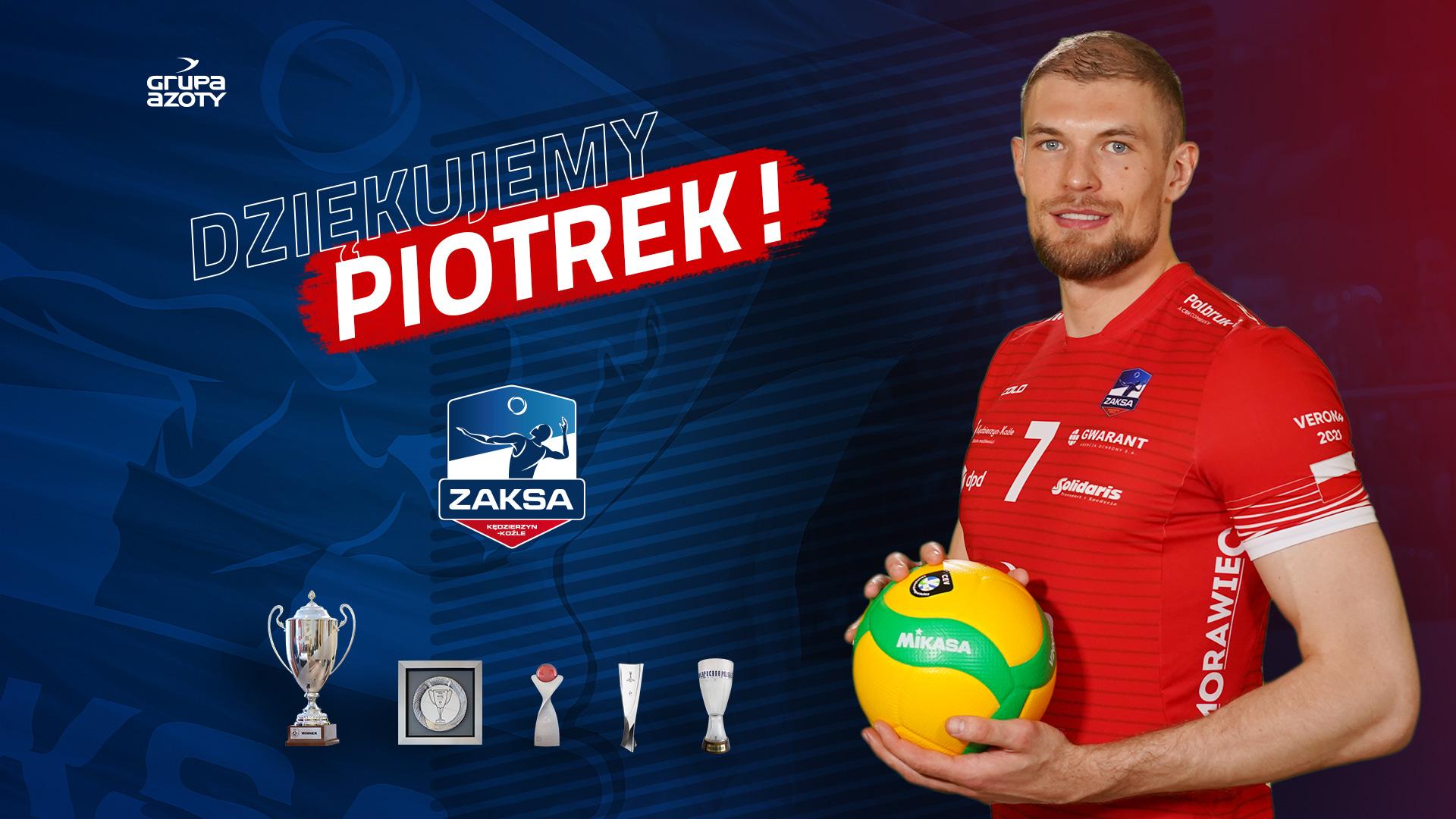 Piotr Łukasik odchodzi z ZAKSY