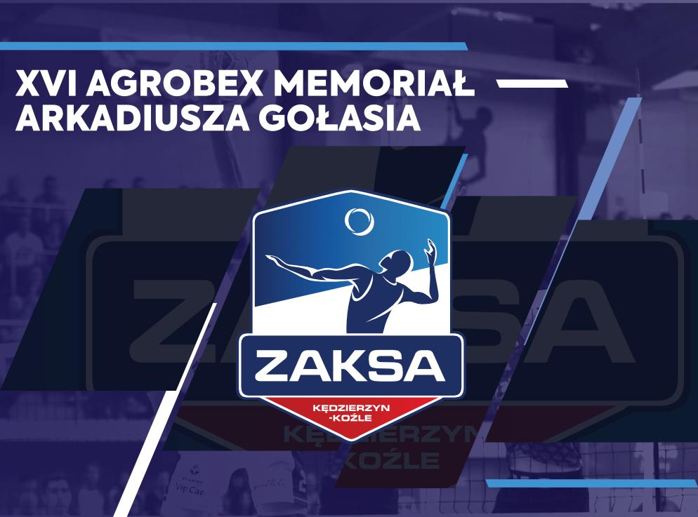 ZAKSA zagra w XVI Agrobex Memoriale Arkadiusza Gołasia