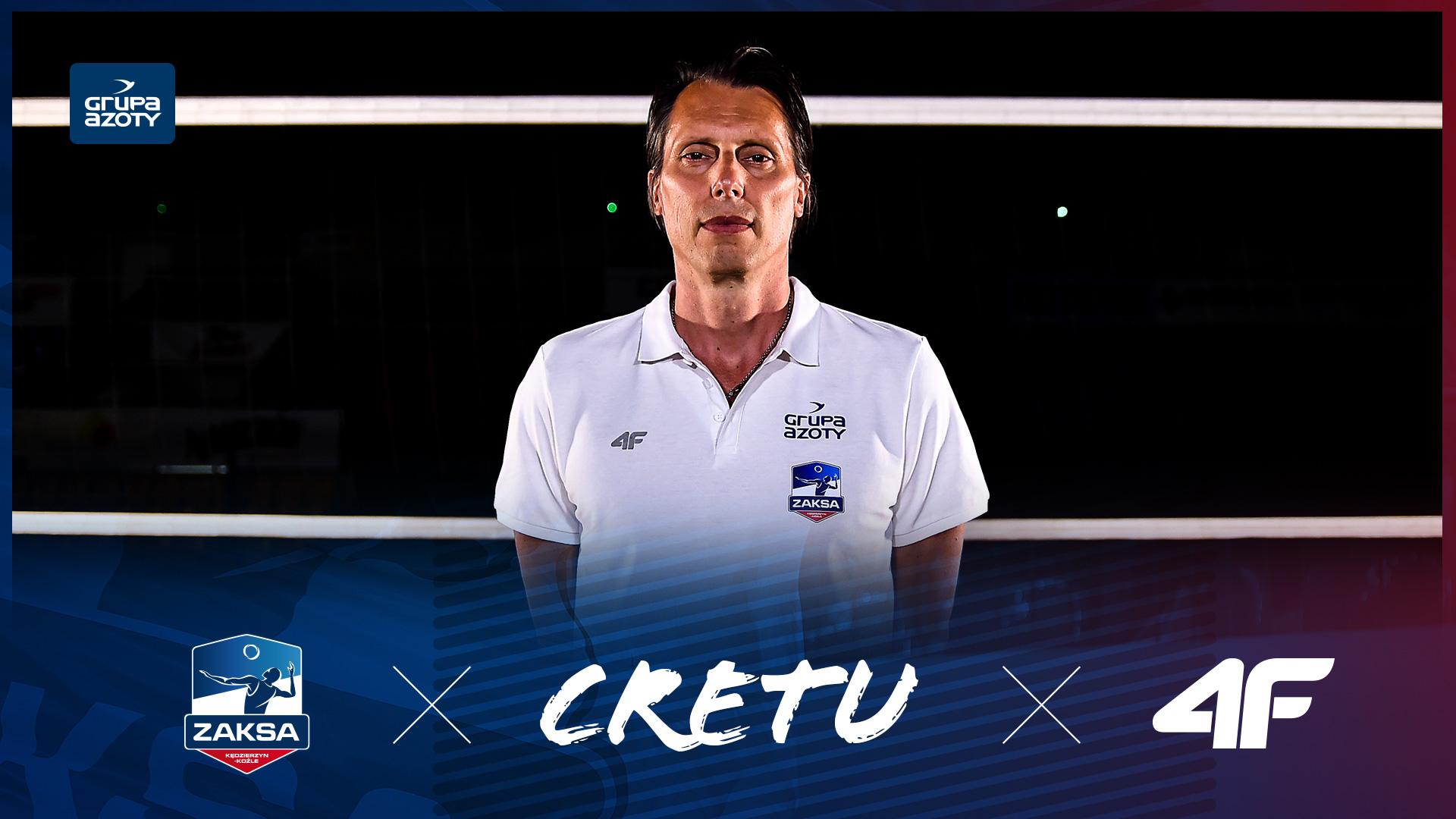 Gheorghe Cretu nowym trenerem Grupy Azoty ZAKSA Kędzierzyn-Koźle