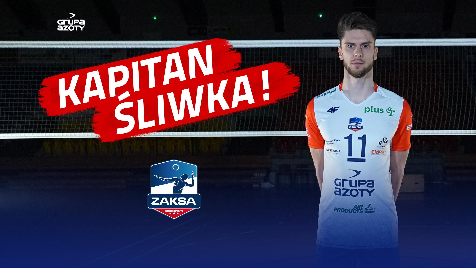 Aleksander Śliwka nowym kapitanem Grupy Azoty ZAKSA Kędzierzyn-Koźle